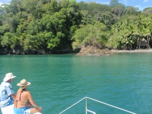 Sailing to the Tiki Hut!